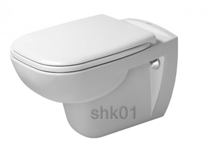 Duravit 2535090000 Wand-Tiefspül-WC D-Code 545 mm wandhängend weiß