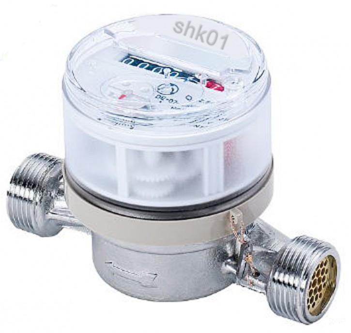 Wasserzähler Wohnungswasserzähler Warmwasserzähler Kaltwasserzähler DN 15 20