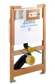 Wand WC Vorwand Element für Ecke Jomo 820mm Betätigungsplatte weiß Befestigung