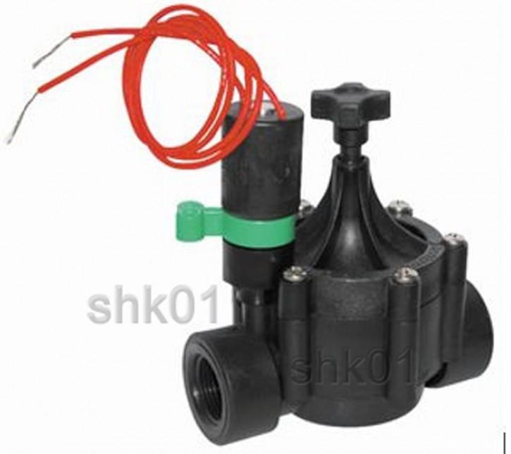Elektroventil Magnetventil für Wasser Elektomagnetventil Bewässerungssysteme 24V