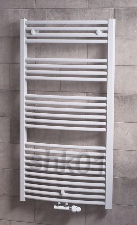 Badheizkörper ECO SWING Designbadheizkörper Kompaktheizkörper Handtuchtrockner