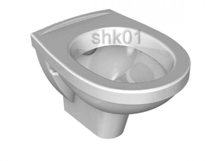 DIANA Plus Compact DI003530001 Wand-Tiefspüler-WC weiß wandhängend tiefspüler