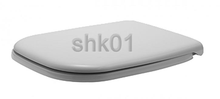 DURAVIT 0067390000 D-Code WC-Sitz mit Absenkautomatik SoftClose weiß