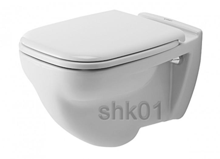 Duravit 2210090000 Wand-Flachspül-WC D-Code 545 mm wandhängend weiß