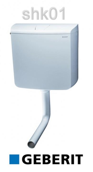 Geberit Spülkasten AP 110 136.613.11.1 weiss Aufputz Tiefhängend WC-Spülkasten