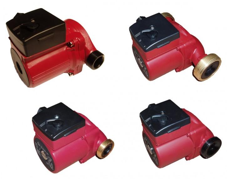 Heizungspumpe Umwälzpumpe 1/2-3/4-1-5/4 130-180 mm 4-6 m DN 15,20,25,32