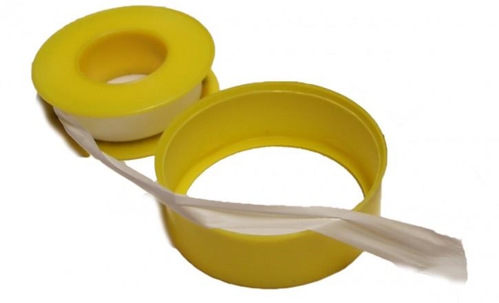 "1 Rolle Dichtband PTFE Teflon Band 12 m 12 mm 0,1 mm Gewinde Grobgewinde 3/8 - 1"""