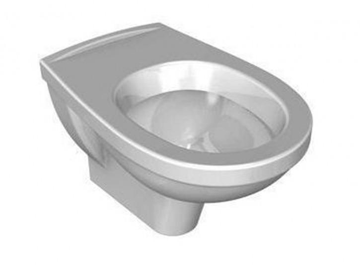DIANA Plus Wand-WC-Flachspüler weiß-dianaclean wandhängend Flachspülerspüler vitraclean