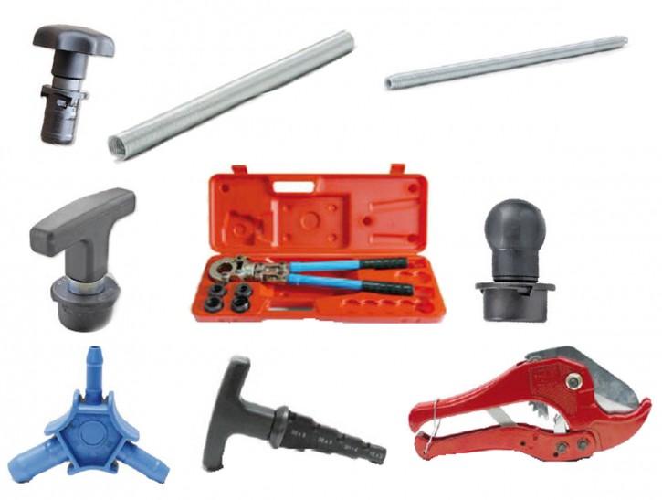 Werkzeug Kalibrierer Biegefeder TH-Kontur Pressfitting Alu-Verbundrohr Presswerkzeug Hand-Presszange