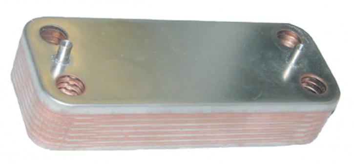 Plattenwärmetauscher 208 x 75 mit O-Ring Wärmetauscher Edelstahl Inox