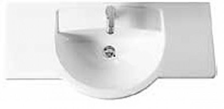 DIANA PLUS Vitra Möbel- Waschtisch 80cm DI006402201 weiß Waschtisch Waschbecken