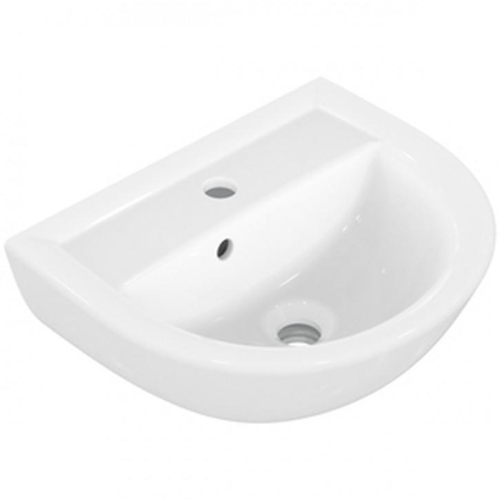 Sanibel 1001 Waschtisch A16 Handwaschbecken Waschbecken 40,45,50,55,60,65cm weiß