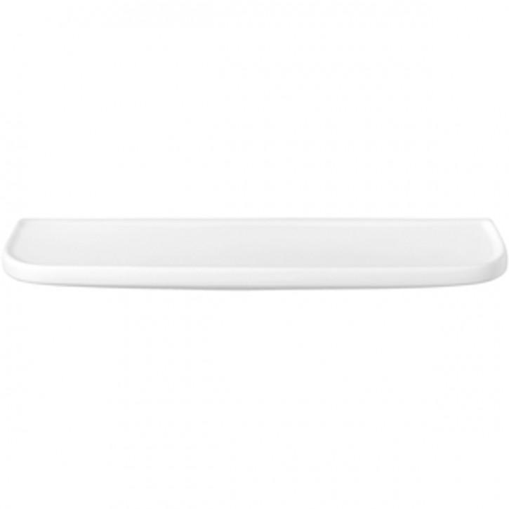 Ablegeplatte Ablageplatte Keramik Sanibel 1001 A16 weiß
