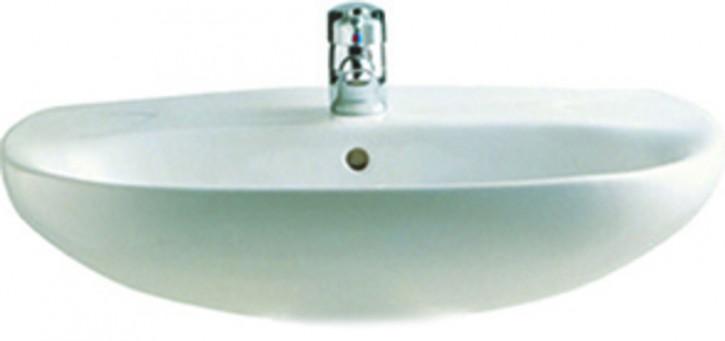 Prima Polo Zoom Waschtisch Handwaschbecken Waschbecken 45,50,55,60,65cm weiss