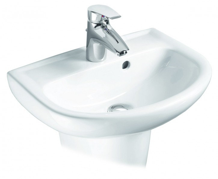 vigour derby waschtisch handwaschbecken waschbecken 45 50 55 60 65 70 cm weiss. Black Bedroom Furniture Sets. Home Design Ideas