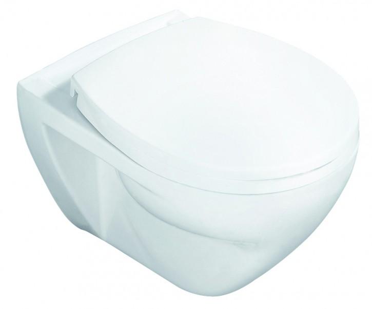 VIGOUR derby Wand-Flachspül-WC Toilette Wand-WC Klosett Klo wandhängend weiß
