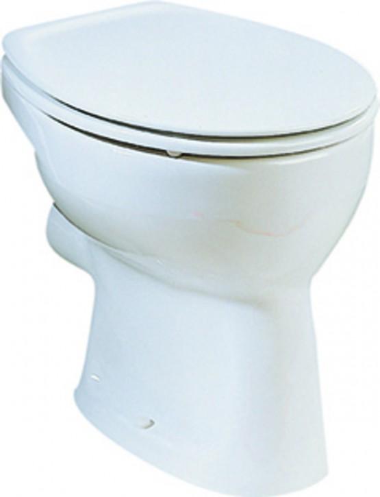 Prima Stand-Flachspül-WC Toilette Klosett Klo Stand-WC Flachspüler weiß stehend