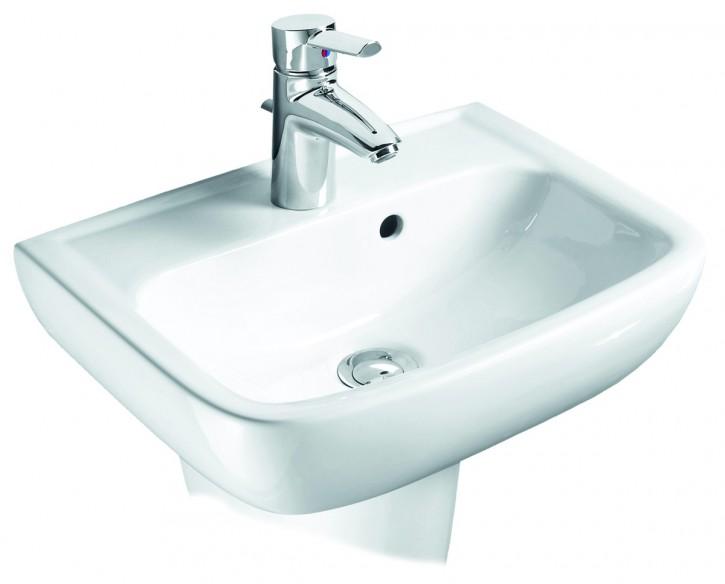 vigour derby style waschtisch handwaschbecken waschbecken 45 50 55 60 65cm weiss. Black Bedroom Furniture Sets. Home Design Ideas