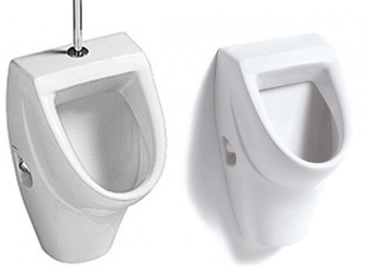 Vigour derby Urinalbecken Urinal Pissuar Pissbecken Zulauf v. oben und v. hinten