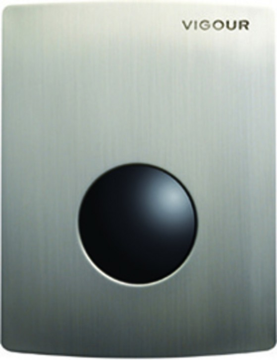 VIGOUR Urinal-Betätigungsplatte Infrarot Elektronik Batteriebetr. Abdeckplatte