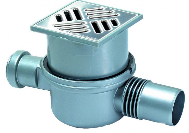 Kessel 42701.20 Badablauf Wasserablauf Ablauf Superflach PP DN 50 mit Geruchver.