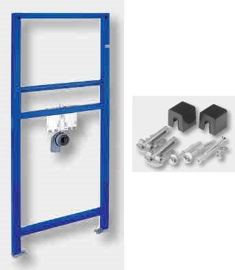 Waschtisch Vorwand Element für Ecke Jomo 1,18 m 118 cm 1180 mm mit Befestigung 173-10070091-00