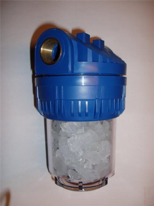 """Wasserfilter 3/4"""" Polyphosphat Entkalkung Antikalk Kalk Hauswasserwerk Pumpen"""