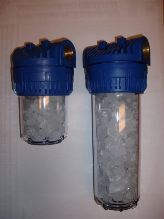 Wasserfilter Polyphosphat Entkalkung Antikalk Kalk Hauswasserwerk Pumpen