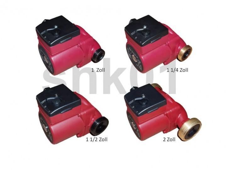 Heizungspumpe 1/2-3/4-1-5/4 130-180 mm 4-6 m DN 15,20,25,32