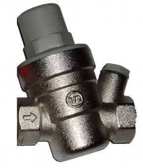 1/2 Druckminderer 1 – 6 bar mit Manometer 10 bar rad. 40mm