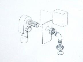 Siphon Unterputz Wandeinbau Waschmaschinen vergleichbar Dallmer HL400 ab7,00€/St